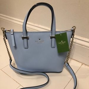 NWT Powder Blue Kate Spade Harmony Crossbody